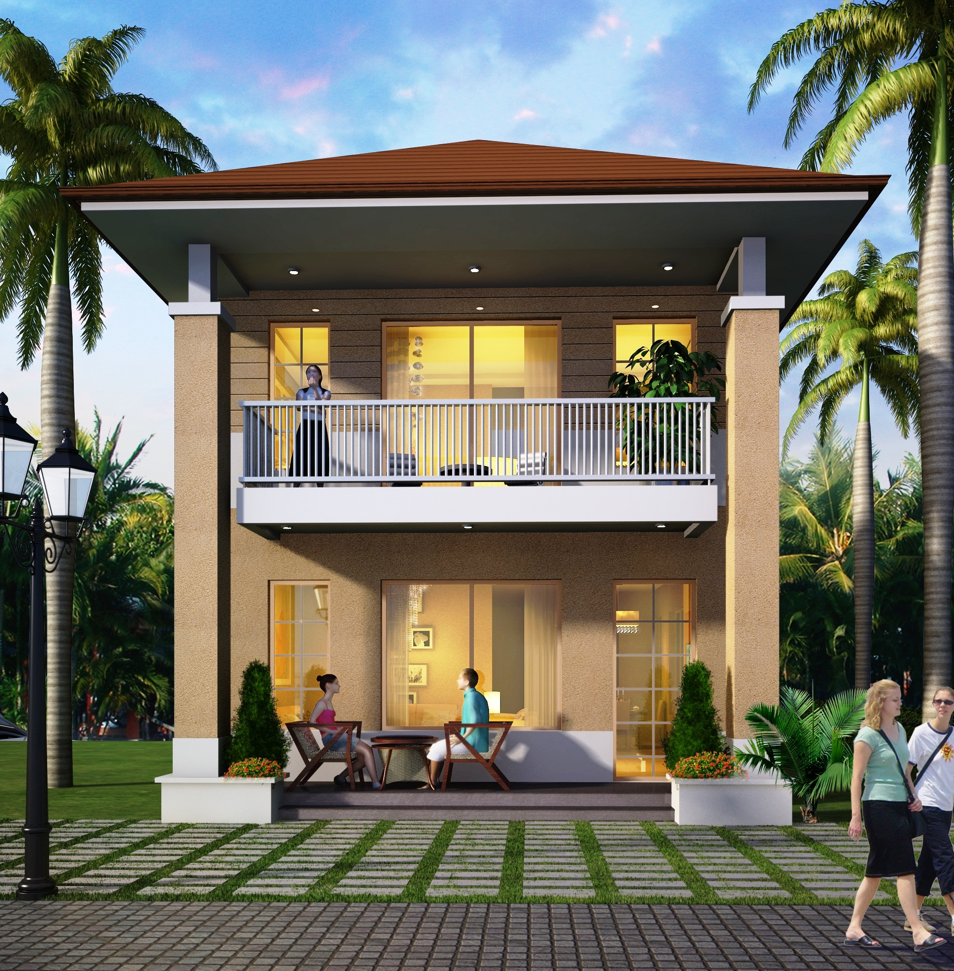 Under construction apartments in goa for Small house for sale in goa